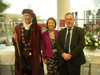 Dick Whittington, Rosemarie Hilditch and chief executive Rob Larkman